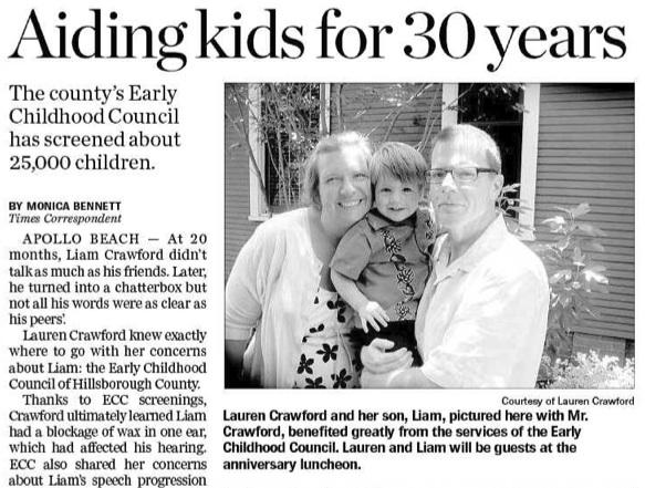 ECC Tampa Bay Times story