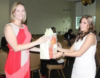 Noelle at PRSSA Banquet