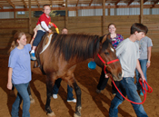Hippotherapy April 2011