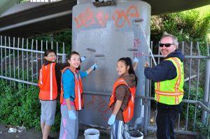 Spotlight, graffiti abatement 5/11