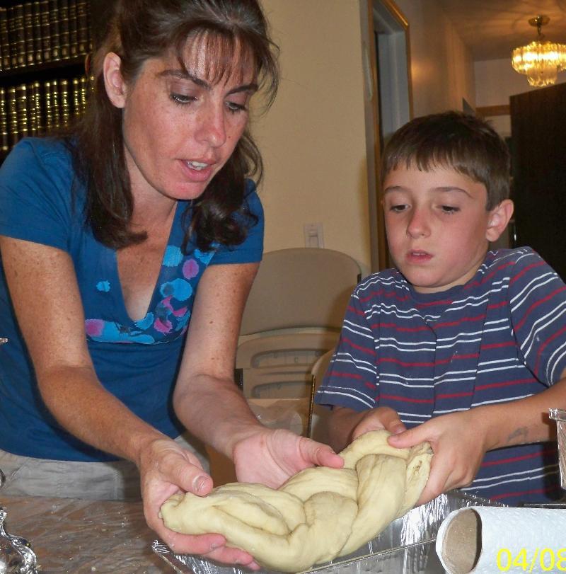 Challah Baking Mom