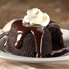 Chocolate Lava Cake 1