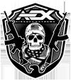 Airsoft Extreme Skull Logo