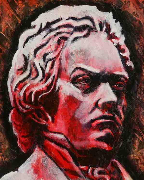 Beethoven by Mike Cuffe