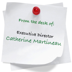 From the desk of Catherine Martineau