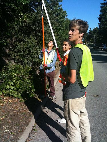 Reed Garber, Canopy summer intern