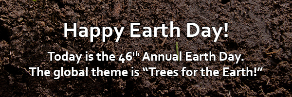 Happy Earth Day_ Trees for the Earth