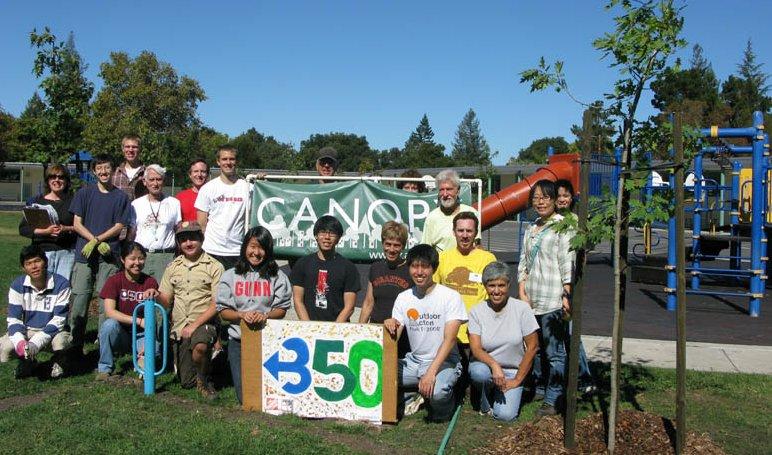 Barron Park Tree Planting (10/10/10)