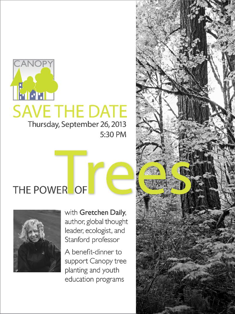 Save the date: The Power of Trees 9/26/13