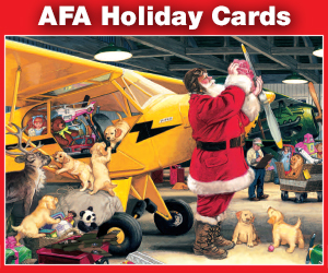 afa holiday card