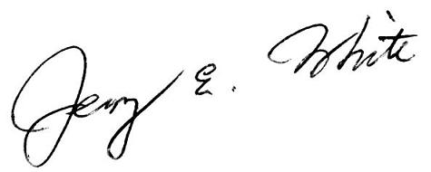 Jerry White Signature