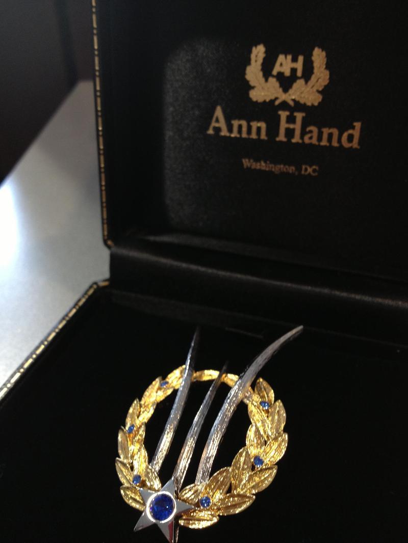 Ann Hand AFM Pin