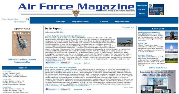 AF Mag Website