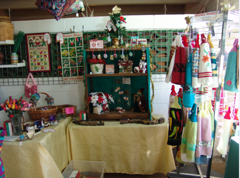 Shirley Chase's Stall