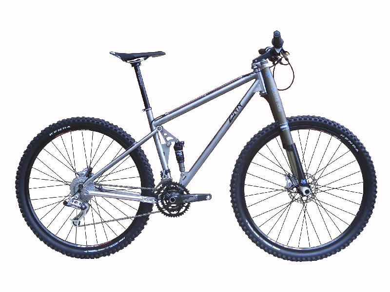 terra 5.0 titanium full suspension bike