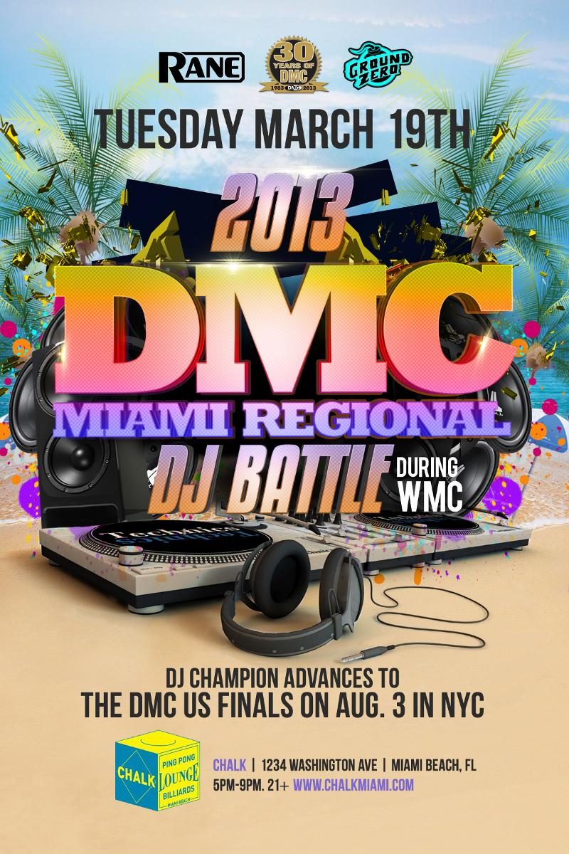 March 19: 2013 DMC Miami DJ Battle