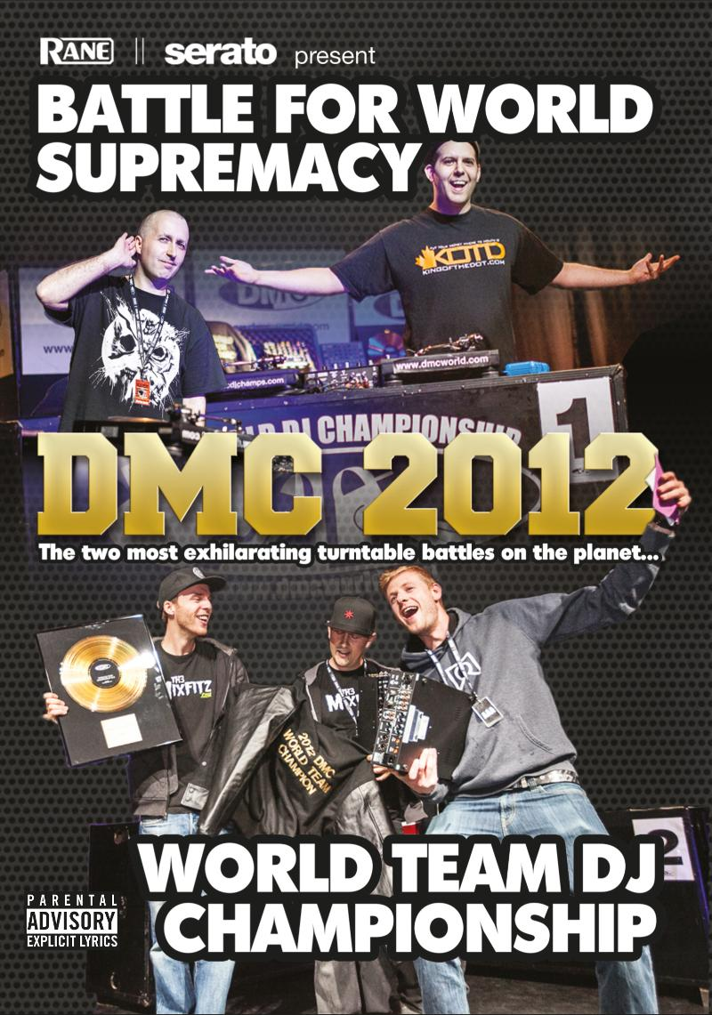 2012 DMC World Supremacy & Team DVD
