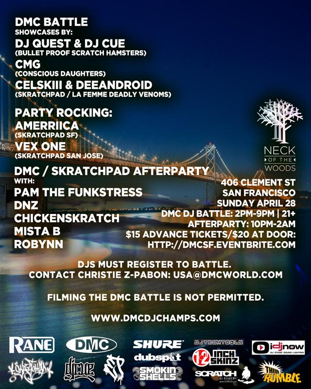 2013 DMC San Francisco DJ Battle