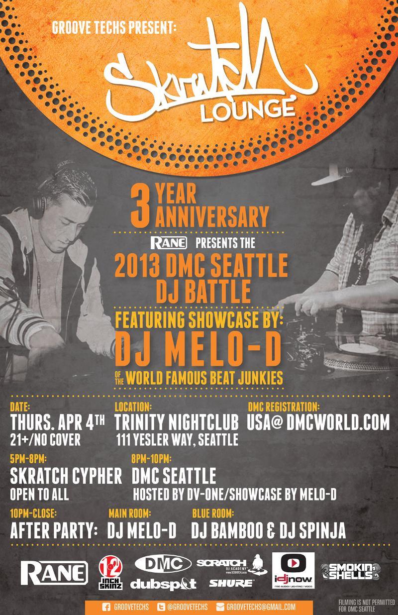 2013 DMC Seattle at Trinity Nightclub
