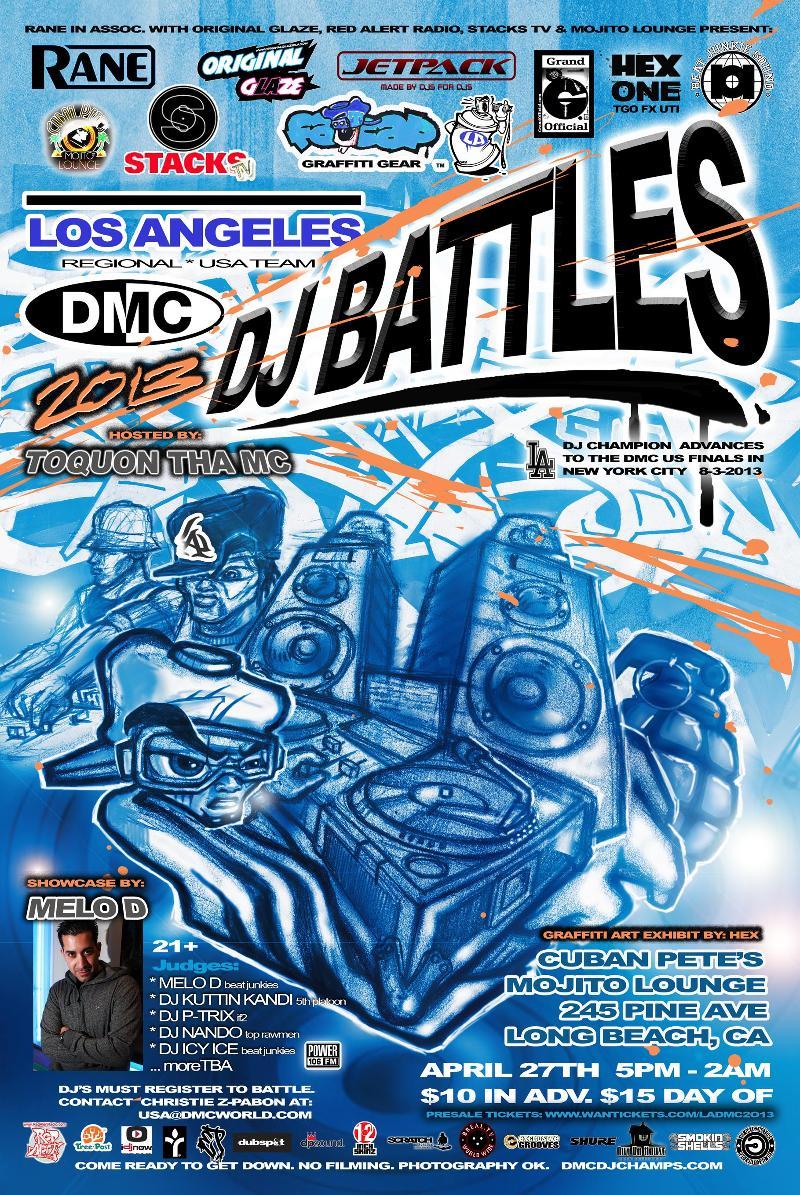 April 27 DMC Los Angeles @ Mojito Lounge
