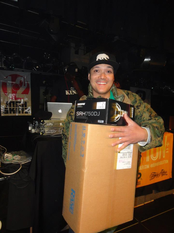 DJ Chuck Flava wins 2013 DMC Denver