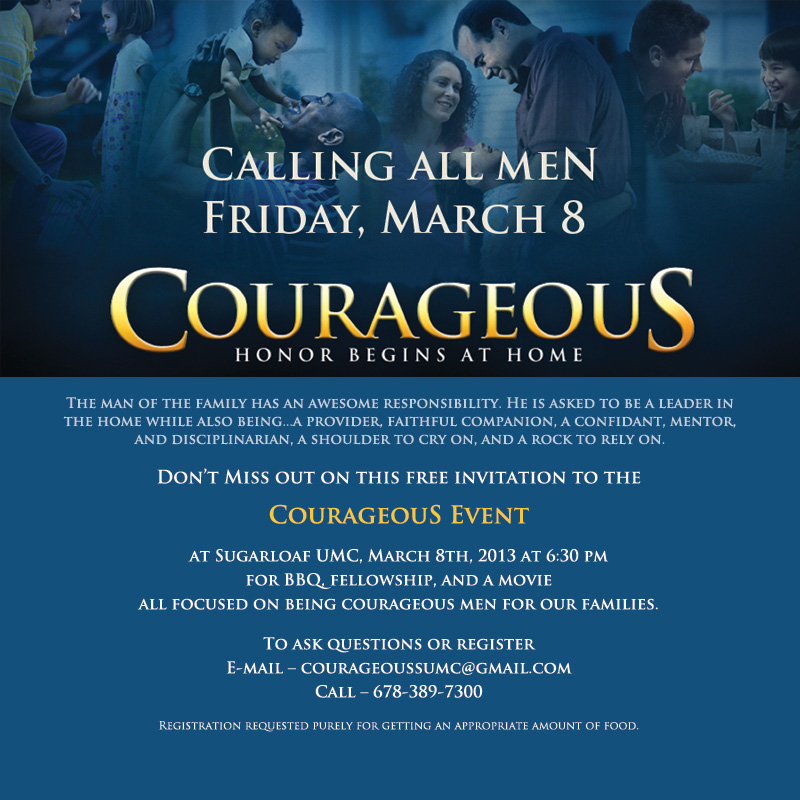 Courageous invite