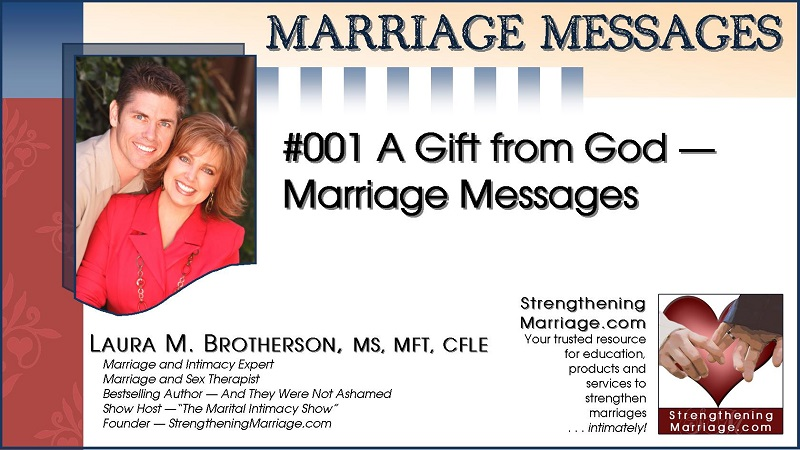 001 Marriage Message cover image