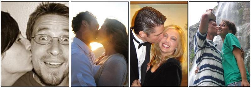 4 kissy pics