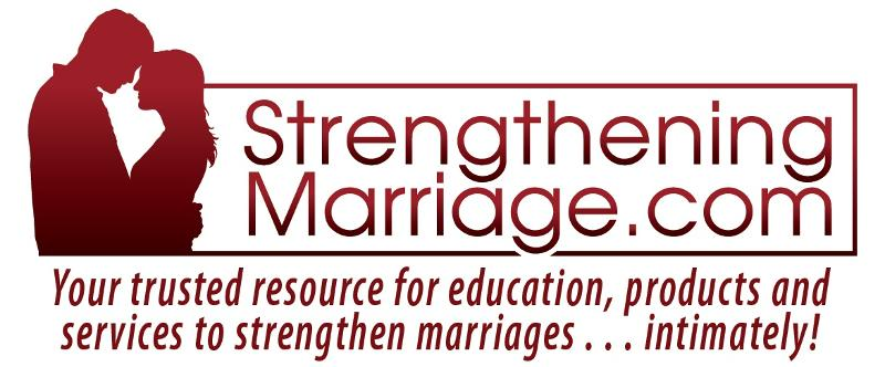 New StrengtheningMarriage.com logo w/tagline