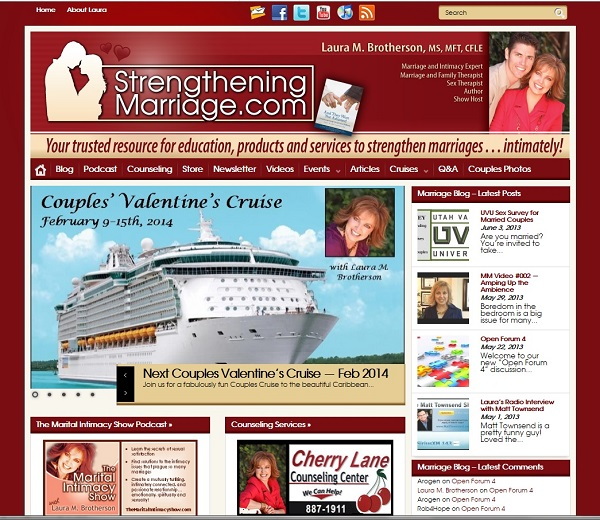 New StrengtheningMarriage.com website
