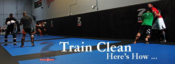 Train Clean Here S How