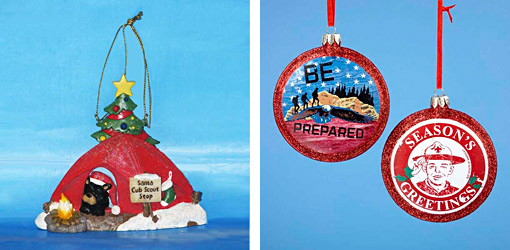 Cub scout christmas ornaments christmas decore for Cub scout ornament craft