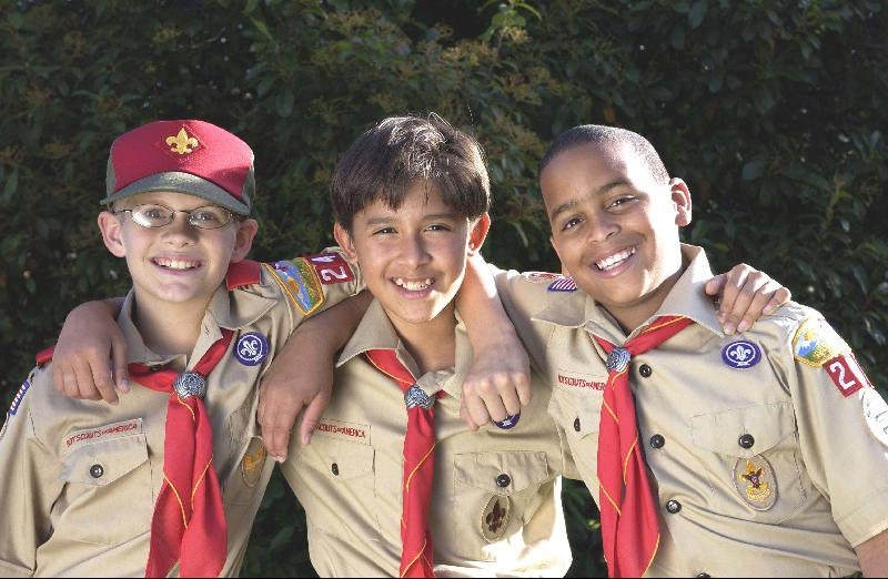 three Scouts