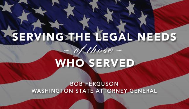 WA Attorney Gen. Bob Ferguson
