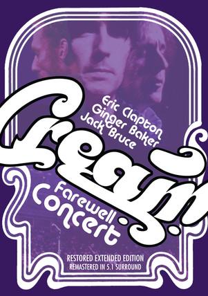 Cream DVD Cover Art