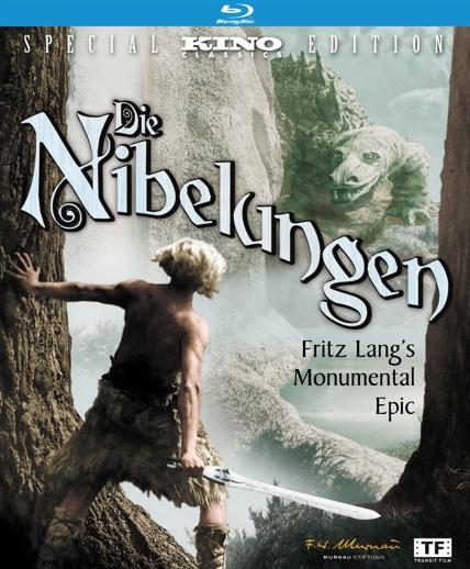 Die Nibelungen Blu-ray cover art