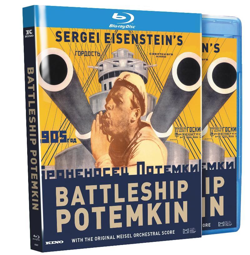 Battleship Potemkin's on Blu-ray