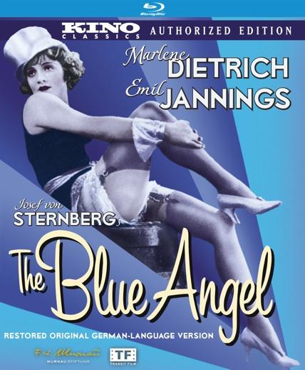 Blue Angel Blu-ray cover art