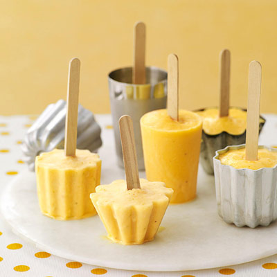 Orange Banana Pops