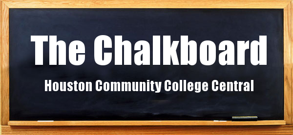 Chalkboard masthead