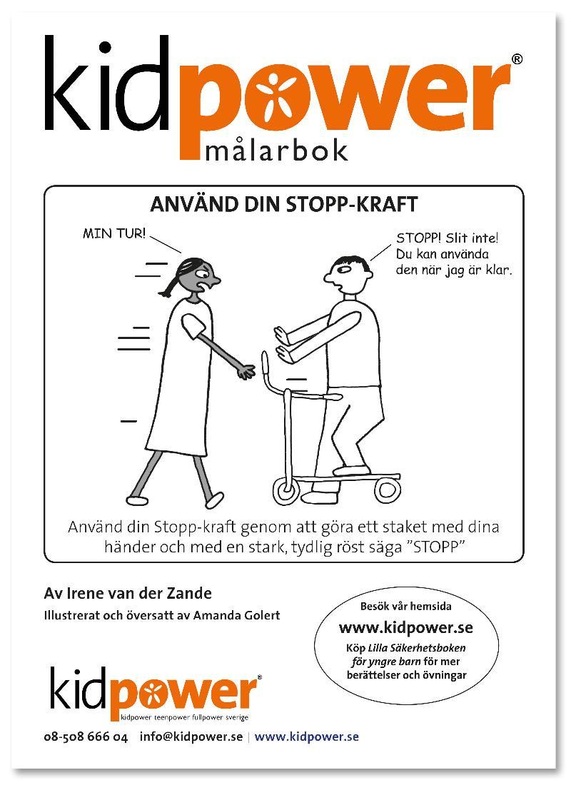 Kidpower M�larbok