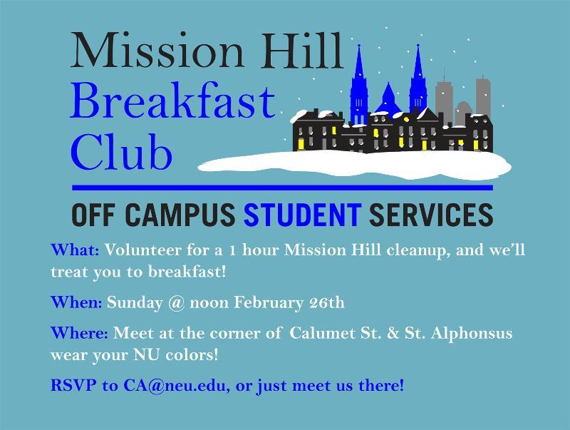 Mission Hill Breakfast Club- Feb.