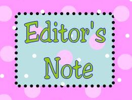 editor's note poka-dot