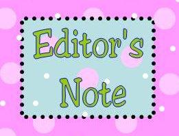 editor's note poka-dot