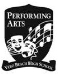 Vero Beach High School Performing Arts logo