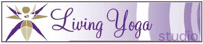 living yoga banner