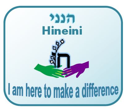 "Here's how to say ""HINEINI"" – I am here … I am ready"