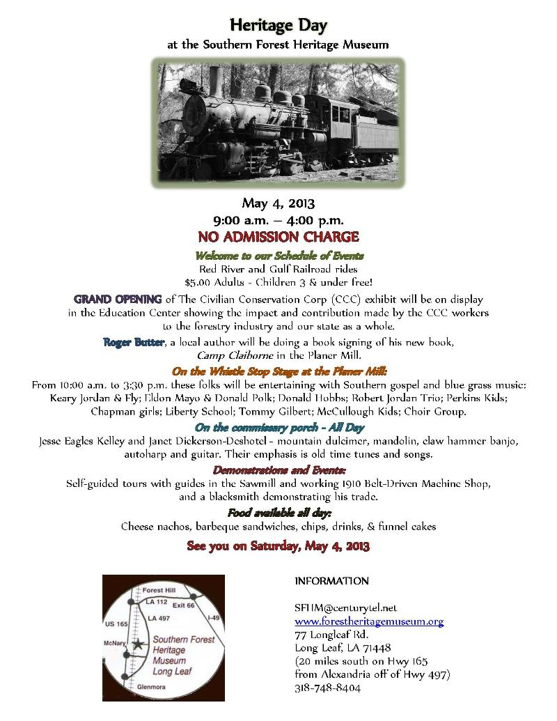 2013 Heritage Day flyer-color