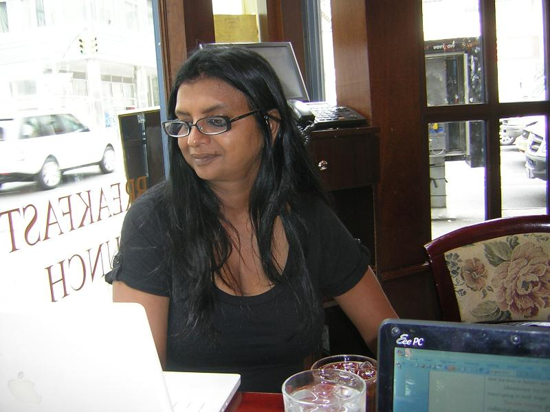 Sarayu Ajuya Srivatsa at The Rohm Agency's NY Retreat