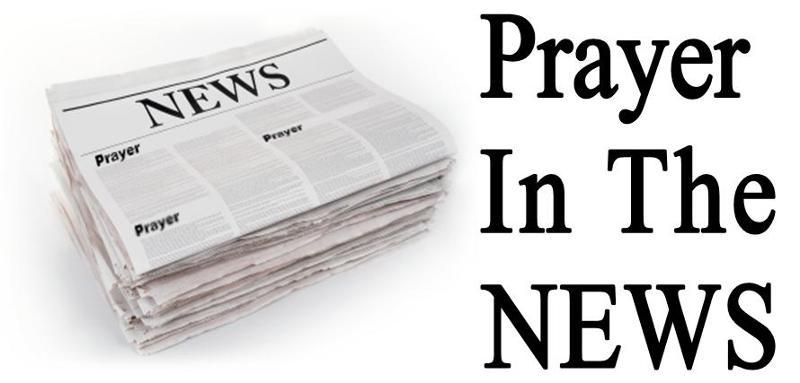 Prayer in the News Logo